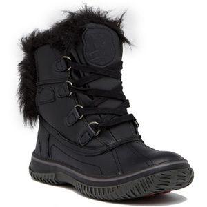 NWT Pajar Icelia Waterproof Faux Fur Boot Black